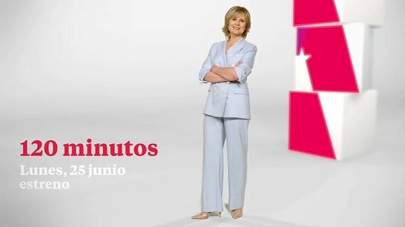 María Rey presenta desde el 25 de junio '120 minutos'