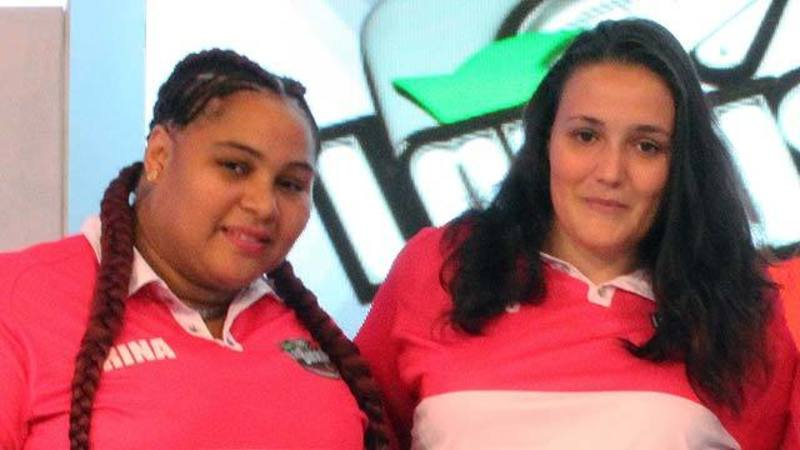 Cristina y Rina, mamis de La Báscula